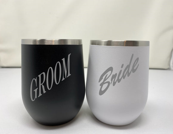 Custom Wine Tumblers for Couples