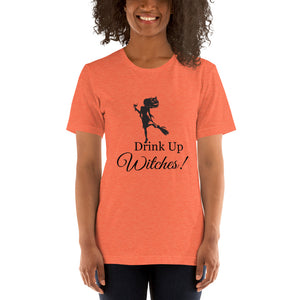 """Drink up Witches!"" Short-Sleeve Unisex T-Shirt"