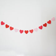 Scalloped Heart Garland