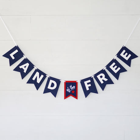 Land Of The Free Banner