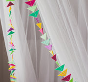Triangle Garlands 8 foot