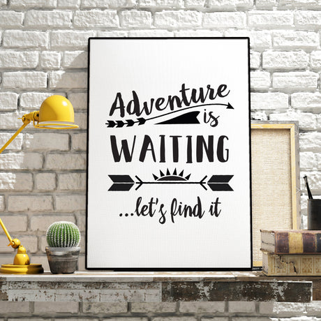 Adventure Digital Download Poster