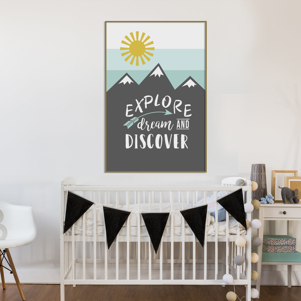 Explore Digital Download Poster