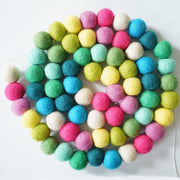 Large Ball Garland - Confetti Colors