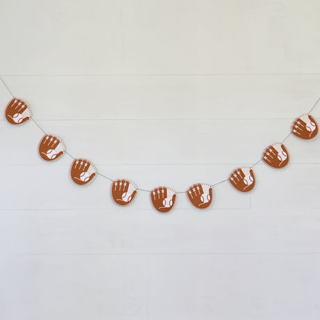 Baseball Mitt and Ball Garland