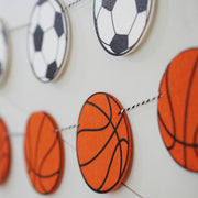 Basketball Garland