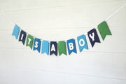 Custom Banner Kits Felt Laser Cut Banners - Blues