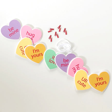 Conversation Heart, Set of 10