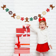 Gingerbread Cookies and Candy Garland