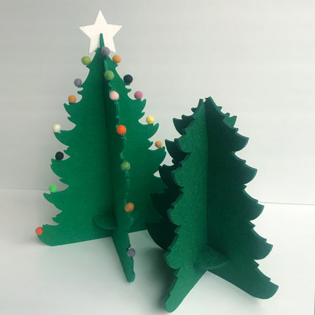 3D Christmas Tree Craft Kit