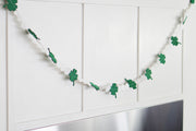 Shamrock And Polka Dot Garland