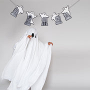 Ghost and Headstone Garland