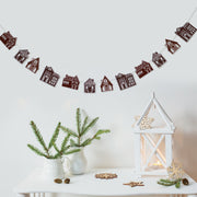 Gingerbread House Garland