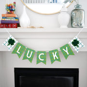 Lucky Plaid Banner