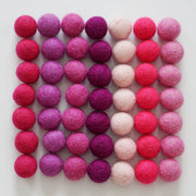 Loose Felt Balls for Crafting