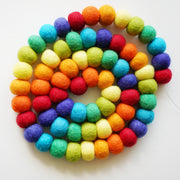 Large Ball Garland- Rainbow Standard