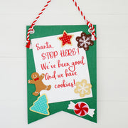 Santa Cookies DYI Craft Kit