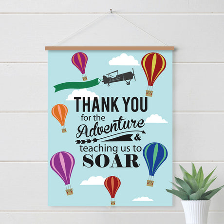 Thank You for the Adventure Digital Download Poster