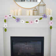 Sewn Together Floral Garland