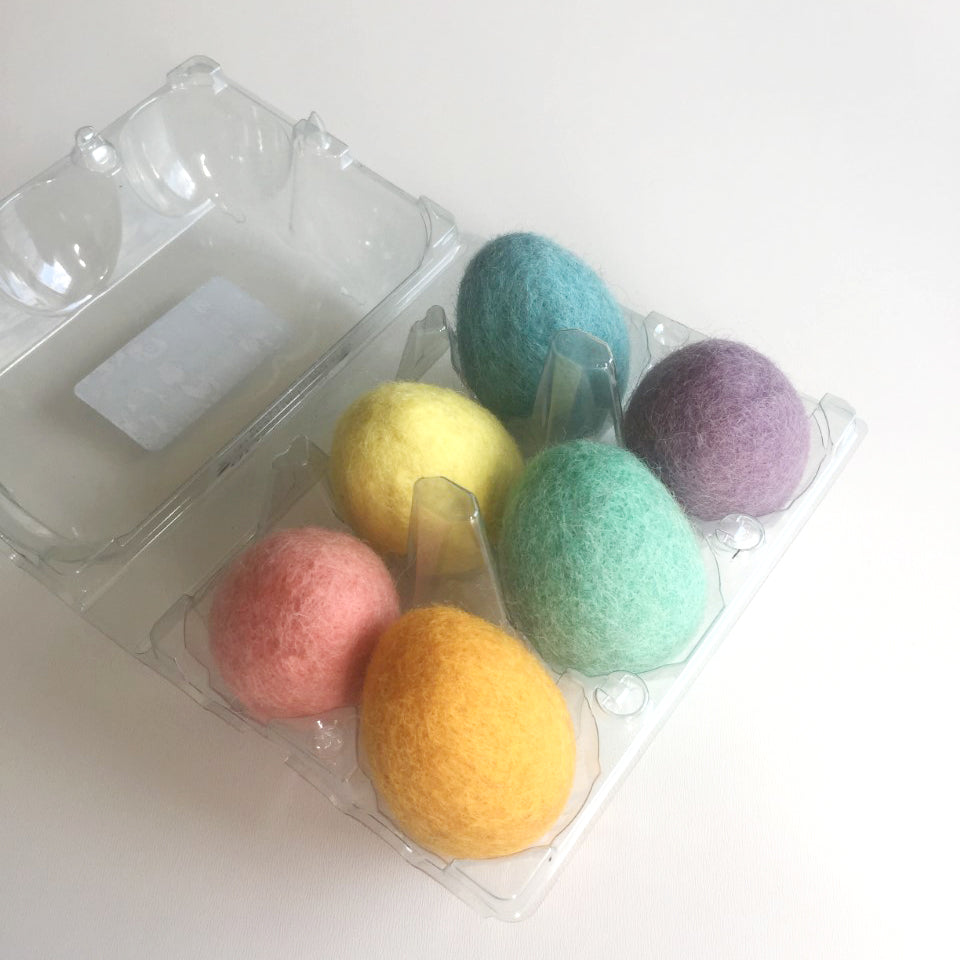 Set of 6 Easter Eggs