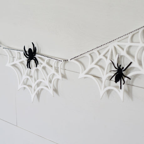 Spider Web Garland