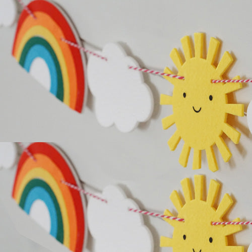Sunshine and Rainbow Garland