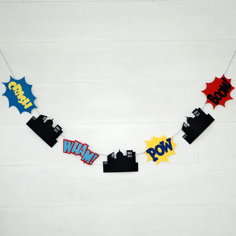 Super Hero Garland