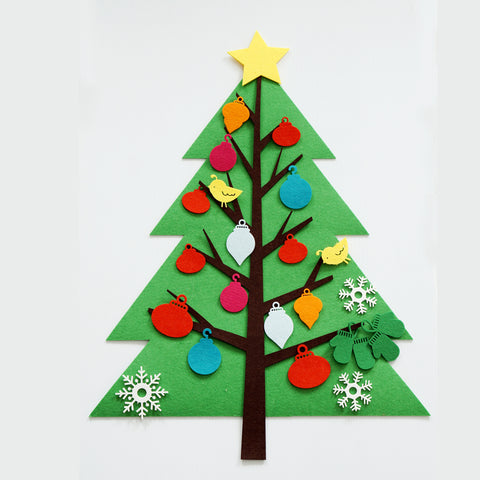 Christmas Tree Felt Play Mat