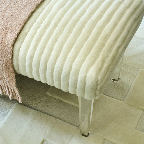 Carved Shearling Fabric