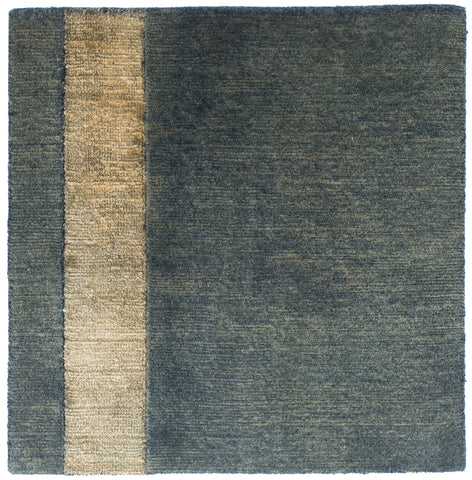 Vintage Wash - Wool w/ Silk Stripe Rug