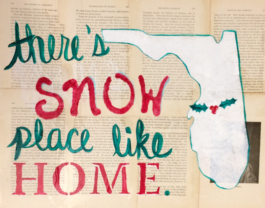 There's Snow Place Like Home - Dec. 8th