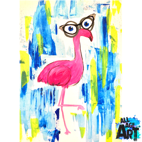 06.22.19 - Hilda the Flamingo