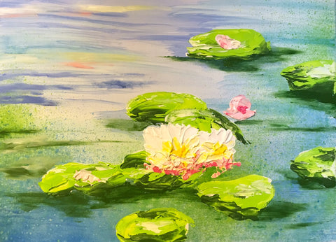 08.31.18 - Monet Waterlilies