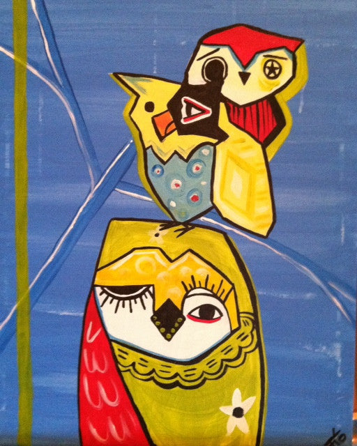 Picasso's Owls - Jan. 18th