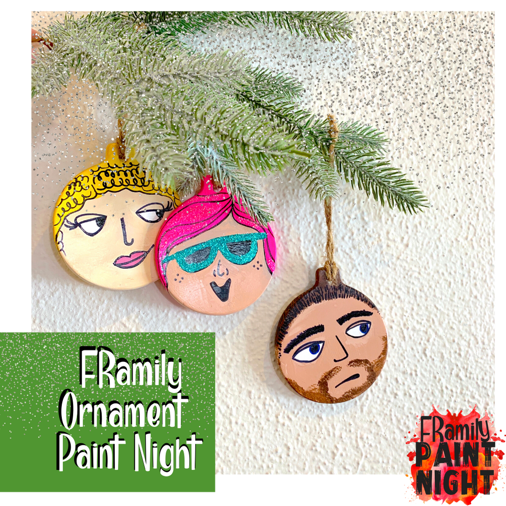 12.06.18 - FRamily Ornament Paint Night