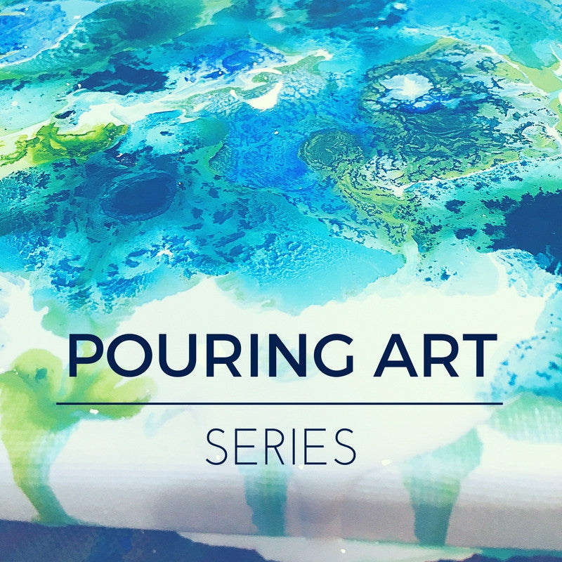 Pouring Art Series - Coming this March!
