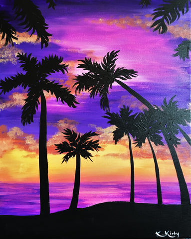 03.28.18 - Purple Palms