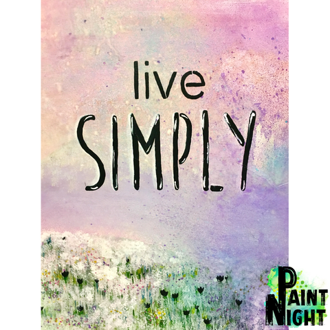 09.26.19 - 'Live Simply'