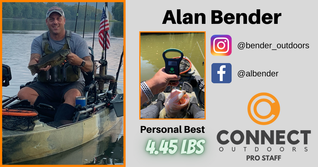 Connect Outdoors Pro Staff Team - Angler Profile - Alan Bender