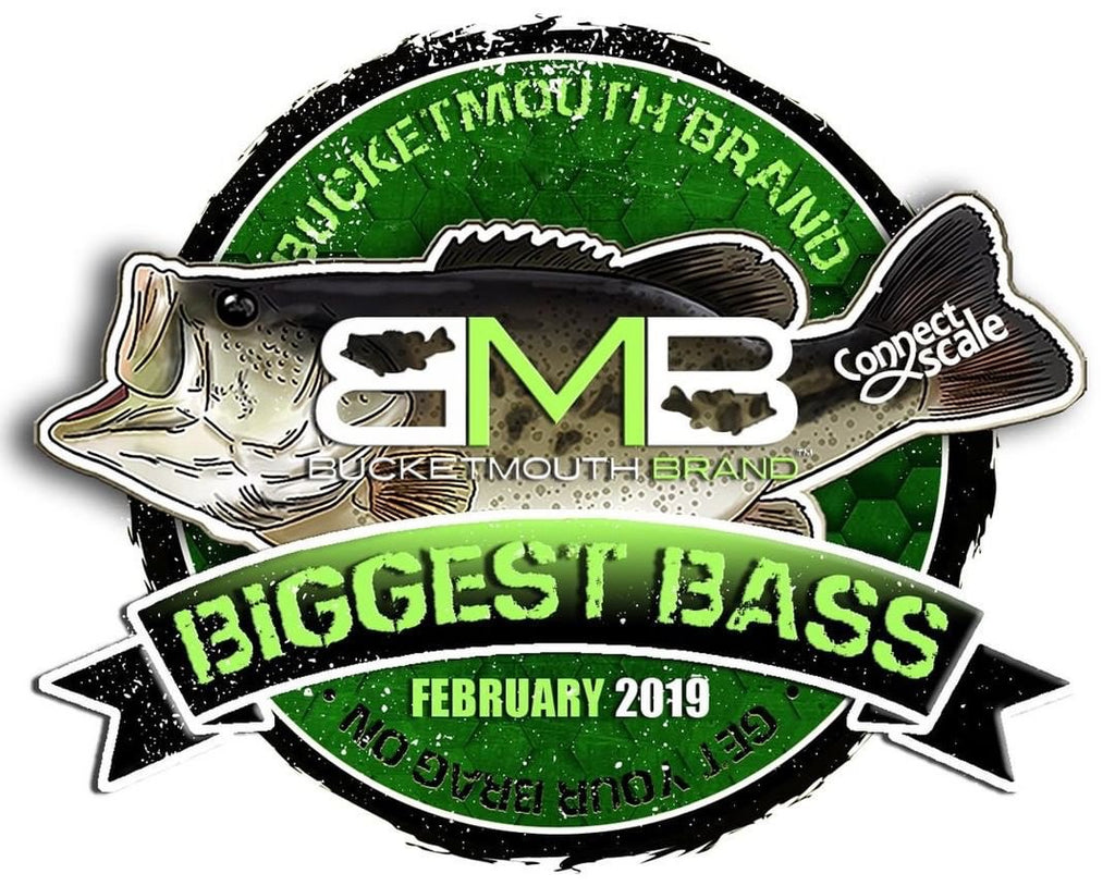 BucketMouth Brand Biggest Bass February Challenge