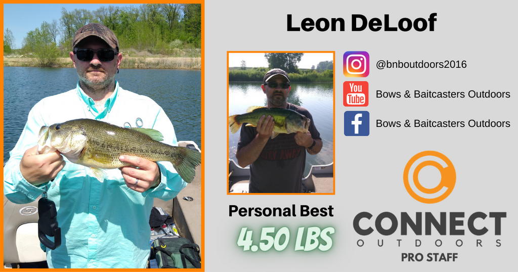 Connect Outdoors Pro Staff Team - Angler Profile - Leon DeLoof