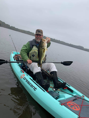 Karl Hudson Connect Fishing League March Bass Tournament Winner
