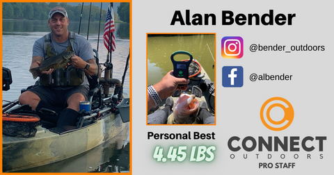 Alan Bender Connect Outdoors Pro Staff Angler Profile
