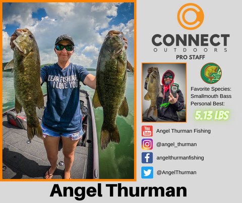 Angel Thurman Fishing Connect Outdoors Pro Staff Angler Profile