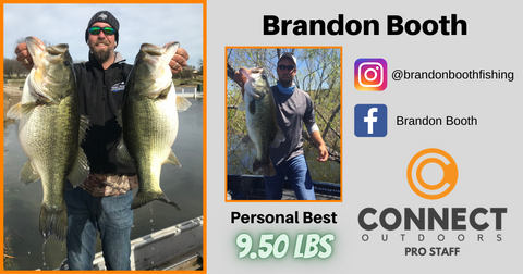 Brandon Booth Angler Profile Connect Outdoors