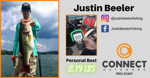Justin Beeler Connect Outdoors Angler Profile