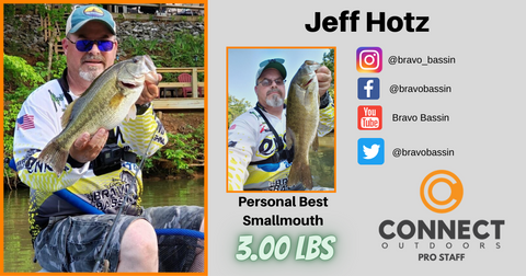 Connect Outdoors Pro Staff Angler Profile Jeff Hotz
