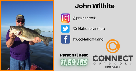John Wilhite Connect Outdoors Pro Staff - Angler Profile