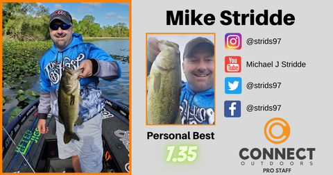 Mike Stridde Connect Outdoors Pro Staff Angler Profile