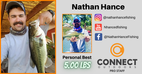 Nathan Hance Angler Profile Connect Outdoors Pro Staff Team